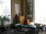 Chiropractic station